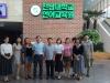 окончание курсов корейского языка с преподавателями и сотрудниками языкового центра Чоннамского национального университета