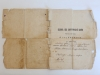 Выписка изметрической книги за 1914г.(Вид обложки)