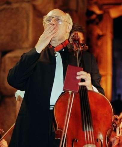 Музыкальная общественность  будет отмечать 90-летие со дня рождения Мстисла́ва Ростропо́вича