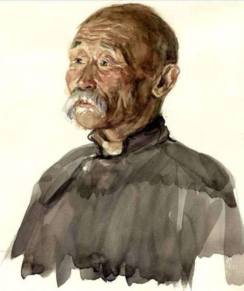 Народный мастер по дереву Бадеев Содном середина 1950- х гг