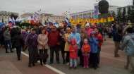 1 мая сотрудники Национальной библиотеки Республики Бурятия приняли участие в первомайском митинге на площади Советов.