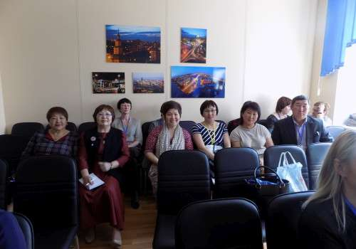Делегация библиотечного сообщества Республики Бурятия работает в Красноярске